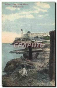 Postcard Old Havana Castillo del Morro Cuban Children