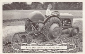 DEARBORN , Michigan, 1930-50s; FORD Feguson System Tractor