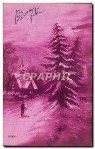 Holidays - Bonne Fete - under snow -