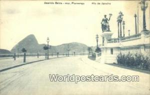 Brazil, Bresil, Brasil Rio De Janeiro Avenida Beira-mar Flamengo