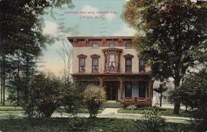 New York Utica Homeopathic Hospital 1910
