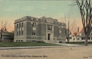 LEOMINSTER , Massachusetts, 1900-10s ; Library