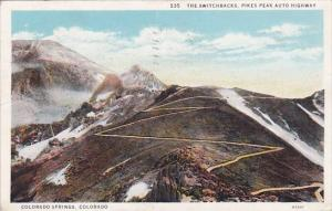 Colorado Colorado Springs The Switchbacks Pikes Peak Auto Highway 1933