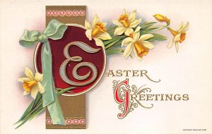 Holiday Easter Post Card Old Vintage Antique Unused