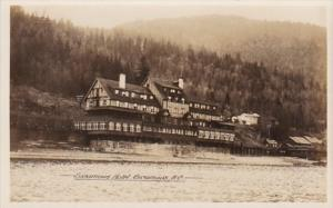 Canada British Columbia Sicamous The Sicamous Hotel Real Photo