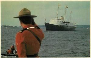 Canada, Montreal, Prince Edward Island, Charlottetown Harbor, Royal Yacht,Police