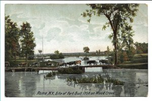 Rome, NY - Site of Fort Bull on Wood Creek