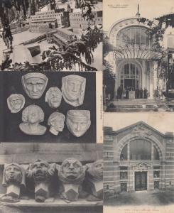 ARCHITECHTURE FRANCE 380 Cartes Postales  1900-1940