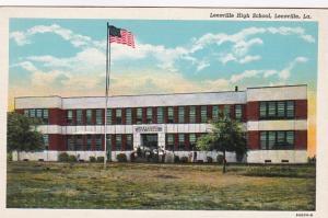 Louisiana Leesville High School Curteich