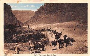 Caravane dans le Sud Egypt, Egypte, Africa Unused