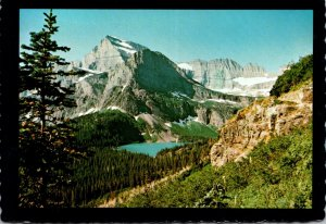 Montana Glacier National Park Mount Gould and Angel Wing 1979