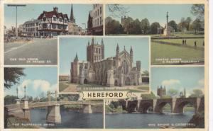 Five Views, The Old House, Suspension Bridge, Castle Green, Cathedral, Wye Br...
