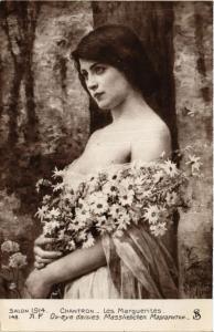 CPA Salon 1914 CHANTRON Les Marguerites (706847)