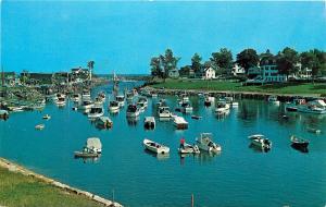 Riverside Hotel Motel Perkins Cove Ogunquit Maine Postcard
