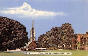 Ireland Louth Church from the Grammar School, Contae Lu