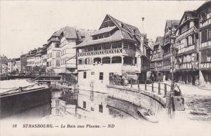 France Strasbourg Le Bain aux Plantes