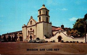 California North San Diego County Mission San Luis Rey 1965