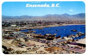 Mexico - Ensenada, Baja California. Panoramic View, City & Bay