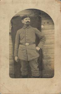 Early 1900s RPPC Military Man 02.71