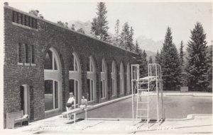 RP: BANFF SPRINGS , Alberta , Canada , 1910-20s ; Hotel Swimming Pool