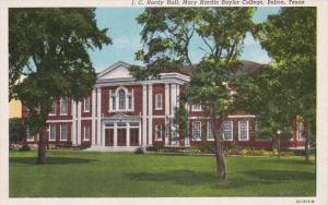 J.C.Hardy Hall, BAYLOR University , BELTON , Texas, 30-40s