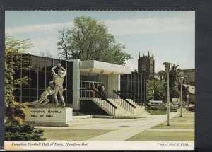 Sports Postcard - Canadian Football Hall of Fame, Hamilton, Ontario   T1980