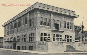 LIMA , Ohio , 1913 ; Elk's Home