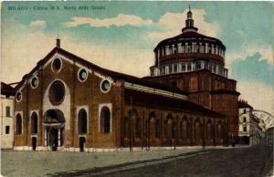 CPA AK Milano Chiesa di S. Maria delle Grazie ITALY (552988)