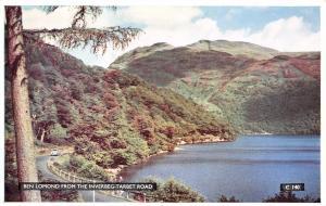 Vintage Postcard Ben Lomond from the Inverbeg-Tarbet Road Scotland