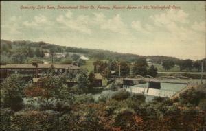 Wallingford CT International Silver Co Factory c1910 Postcard