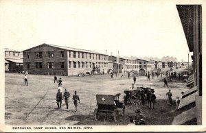 Iowa Des Moines Camp Dodge Barracks