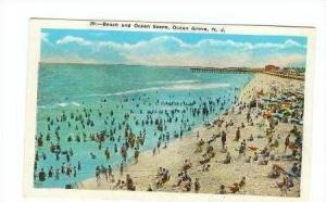 Beach Scene, Ocean Grove, New Jersey, 1910s