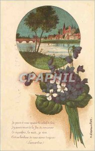 Old Postcard I Think You had when the Sun Leve I think still the end of his c...