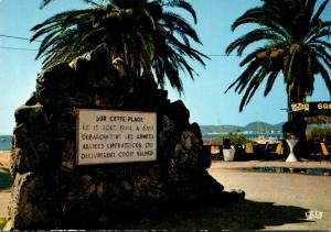 France Croix-Valmer Le Monument du Debarquement