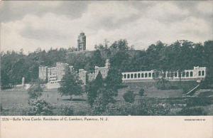New Jersey Paterson Belle Vista Castle Residence Of C Lambert