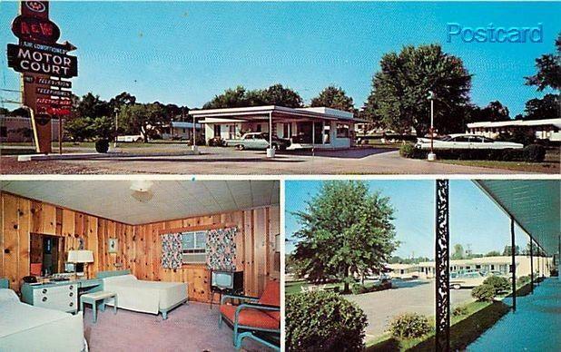 Tn Clarksville Tennessee A W Motel Multi View Dexter Press