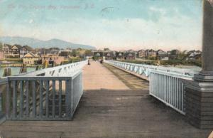 VANCOUVER , B.C. , 1908 ; The Pier , English Bay