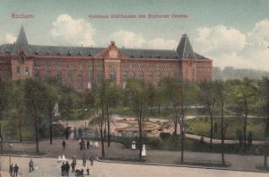 BOCHUM , Germany , 1900-10s ; Kosthaus Stahlhausen des Bochumer Vereins