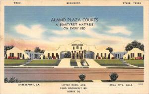 4331  AR Little Rock  1940's   Alamo Plaza Courts Motel