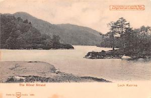 Scotland, UK Old Vintage Antique Post Card The Silver Strand Loch Katrine Unused