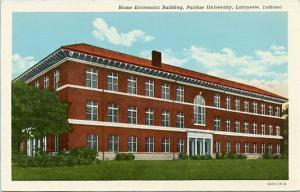 IN - Lafayette, Purdue University, Home Economics Building