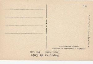 HABANA , Cuba , 1910s ; 6 Postcards ; 3/3