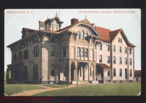 BINGHAMTON NEW YORK SUSQUEHANNA VALLEY ORPHANS HOME VINTAGE POSTCARD NY