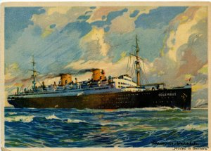 Norddeutschen Lloyd, Bremen - SS Columbus