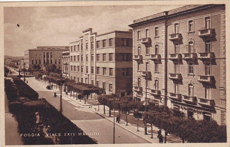 FOGGIA, Puglia, Italy , 10-20s ; Viale XXIV Maggio Version-2