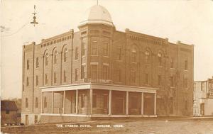 Auburn Nebraska The Avenue Hotel Real Photo Antique Postcard (J15151)