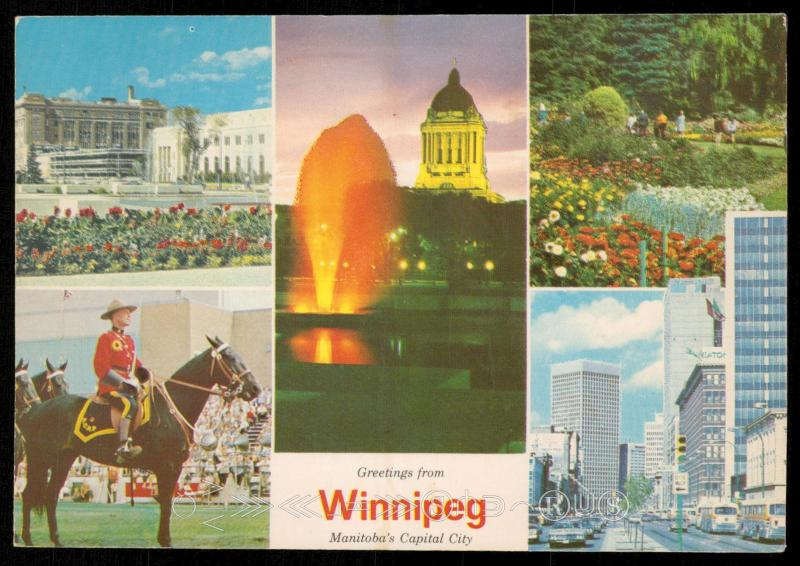 Greetings from Winnipeg - Manitoba's Capital City