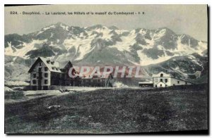 Old Postcard The Dauphine Lautaret the Hotels Combeynot