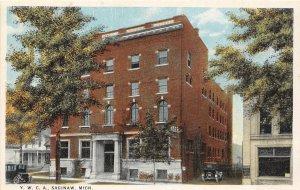 G30/ Saginaw Michigan Postcard c1910 Y.W.C.A. Women's Building 4