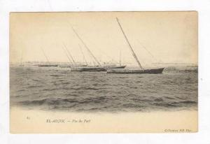 Ships @ Port,el Adjim,Tunisia 1900-10s